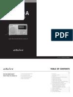 Grundig G4000A Manual