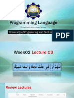 Week 02 Lecture 03