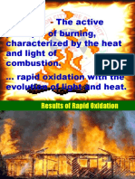 5. Chemistry of Fire, Triangle of Fire Etc.