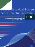 Strategia UE privind persoanele cu dizabilitati