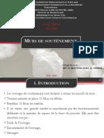Murs de Soutènement PDF 1