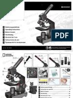 Manual de Utilizare Set Microscop National Geographic 40-1024X 9039100