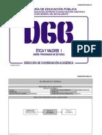 Etica y Valores 1 (Preparatoria México SEP DGB)