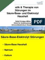 8. Intensiv-Säure-Base-Elektrolyte
