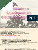 11.- SEGUNDA GUERRA MUNDIAL