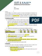 Le Corrigé Du Cas Sur Le Plan de Financement
