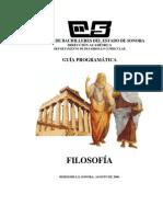 Filosofia I Guia para el apoyo docente ( México DGB SEP)