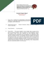 Progress-Report