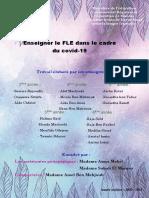 Enseigner le FLE dans le cadre du covid-19 (1)