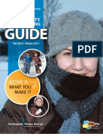 Fall Winter 2010 Community Leisure Guide