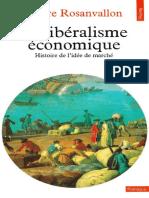 Rosanvallon - Libéralisme économique