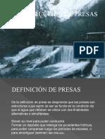 CONSTRUCCION DE PRESAS