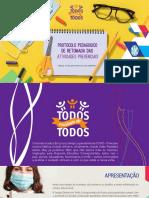 Protocolo Pedagogico Retomada Das Aulas Presenciais Cmcs