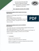 TP01 Etude de L'Hydrolyse de L'Amidon