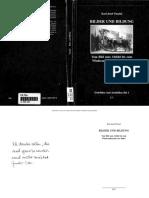PAZZINI Karl Josef Bilder Und Bildung. Vom Bild Zum Abbild Bis Zum Wiederauftauchen Der Bilder
