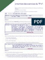 Linux _ Corrections des exercices du TP n°2