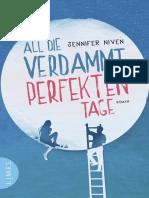 All die verdammt perfekten Tage by Niven Jennifer (z-lib.org)
