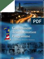 GTP Roadmap - Executive Summary