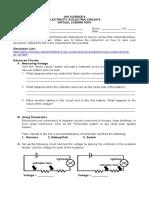 Circuits Virtual Laboratory (Updated)