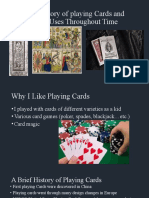 249007995 the History of Playing Cards Presentation