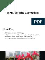 IEML Website Corrections