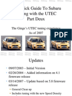 UTEC Quick Guide Part Deux