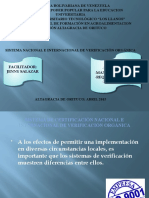certificacion nacIonal e internacional