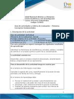 PROCESOS INDUSTRIALES Guía de Actividades y Rúbrica de Evaluación - Presaberes - Pretarea. Conceptos Fundamentales