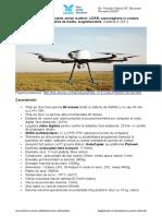 of pret Drona utilitara multirol octocopter FAE Predator 2021