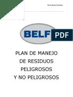 Plan de Manejo Residuos Belfi