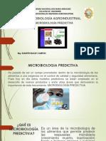 MICROBIOLOGÍA PREDICTIVA