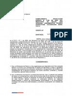 Resolución por vacunación en Chile