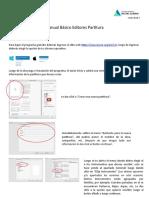 Manual Básico Editores Partitura 2.0