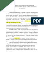 DESENVOLVIMENTO INCIAL DE MUDAS DE Inga