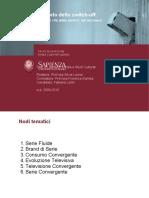 Fabiana Lotito tesi Industria Culturale e Comunicazione digitale
