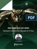 Matemática Do Zero - Lista 1 - Estratégia Militares