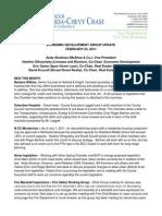 February 2011 - Economic Development Group Update