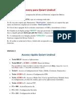 Manual recopilatorio de configuración Qviart Undro 2