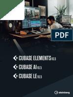 Cubase Elements 10 5 Manuale Operativo It
