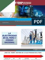 SEMANA 4 LA ELECTRICIDAD EN EL PERU