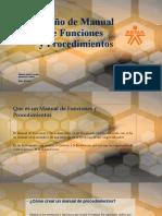 Diseño de Manual de Funciones y Procedimientos