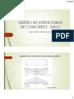 dise�o de estructuras de concreto - clase 5y6