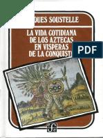 La vida cotidiana de los aztecas en visperas de la conquista