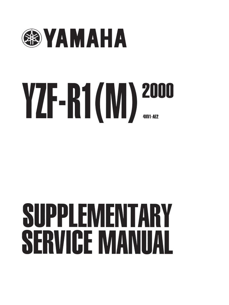 YamahaYZFRService Carburetor Valve - 02 yamaha r1 headlight wiring diagram