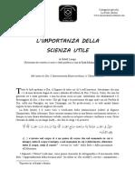 it_Importanza_Scienza_Utile