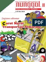 Tabloid Manunggal Carut Marut Transportasi Semarang