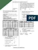 Ficha 1-Revisión de elementos algebraicos 1°