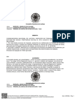 Documento TJ GO