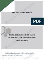 MÉTODOS DE VALORACIÓN INTEC