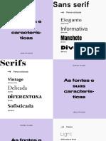 _canva class - estilos tipográficos
